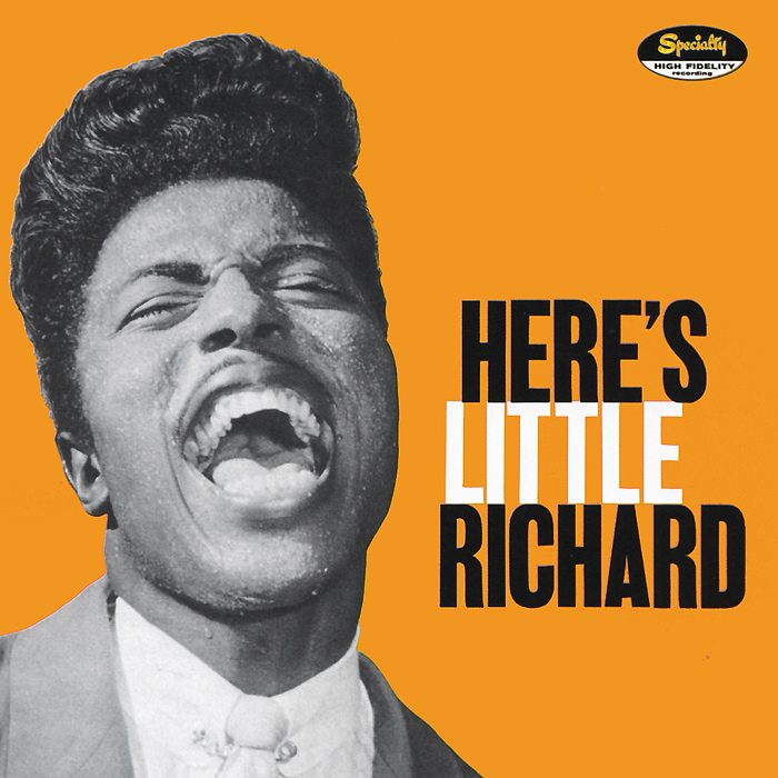 Литтл Ричард Little Richard. Here's Little Richard литтл уолтер little walter the best of little walter lp