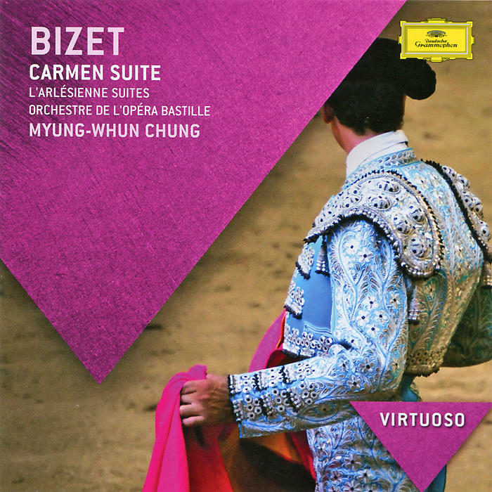 Мюнг-Вун Чунг,Orchestre De l'Opera Bastille Myung-Whun Chung. Bizet. Carmen Suites j rive king paraphrase de concert on bizet s carmen