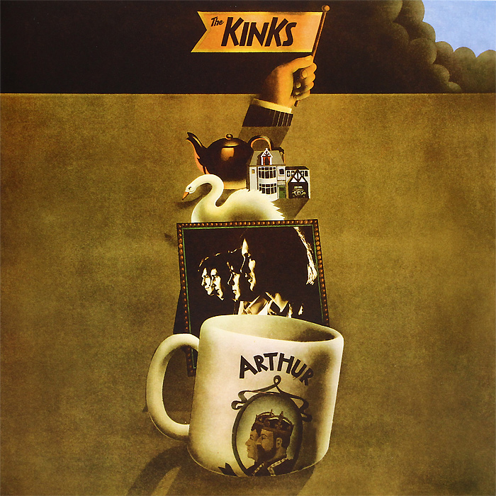 The Kinks The Kinks. Arthur (2 LP) the kinks the kinks arthur or the decline and fall of the british empire lp