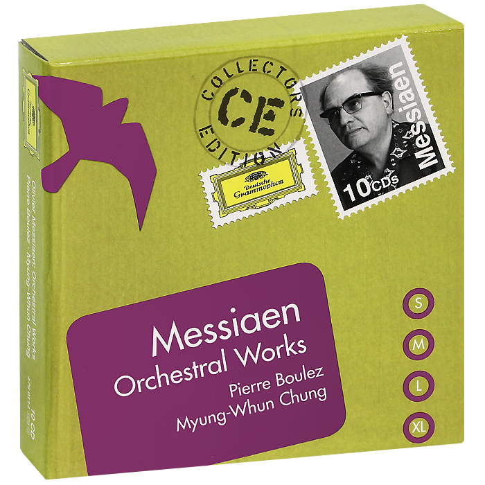Pierre Boulez, Myung-Whun Chung. Messiaen. Orchestral Works (10 CD)
