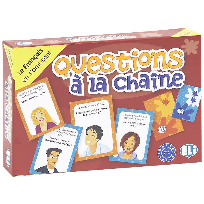 Questions a la chaine (набор из 132 карточек) games [a2 b1] questions a la chaine