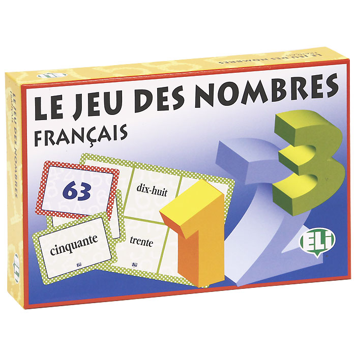 Le Jeu Des Nombres (набор из 136 карточек)