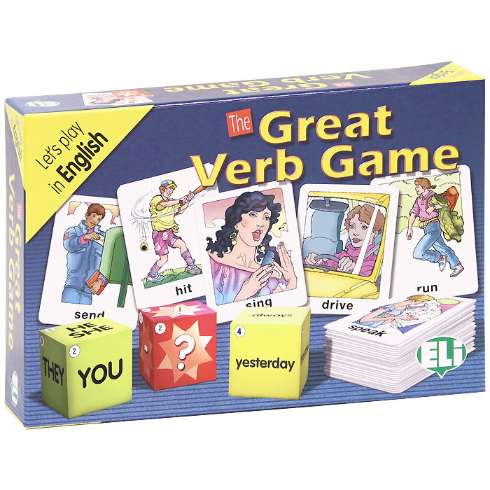 The Great Verb Game (набор из 100 карточек) the love verb