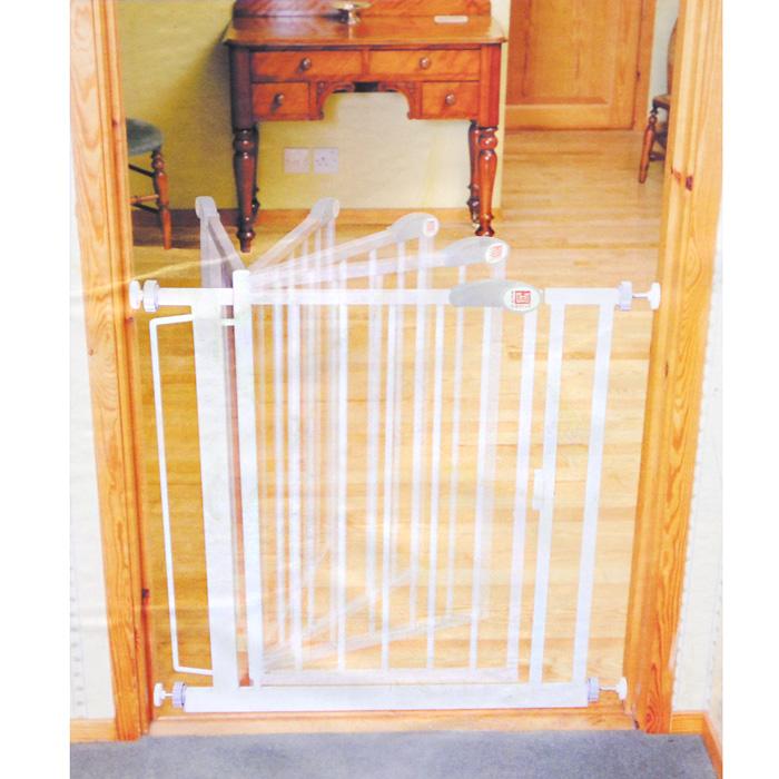 Ворота безопасности Red Castle Auto-Close, цвет: белый, 68,5 x 75 см munchkin ворота безопасности maxi secure