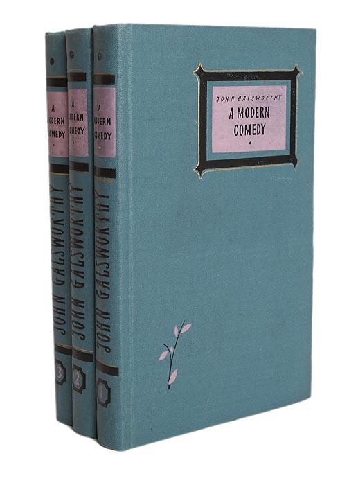 John Galsworthy A modern comedy (комплект из 3 книг) история xx века на английском языке комплект из 3 книг
