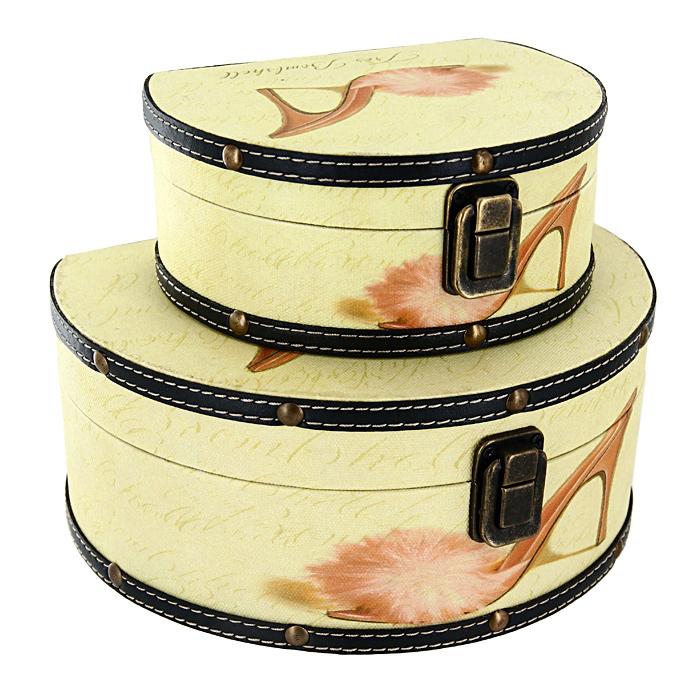 Набор шкатулок Roura Decoracion, 2 шт. 34551 набор шкатулок для рукоделия bestex 3 шт zw001250