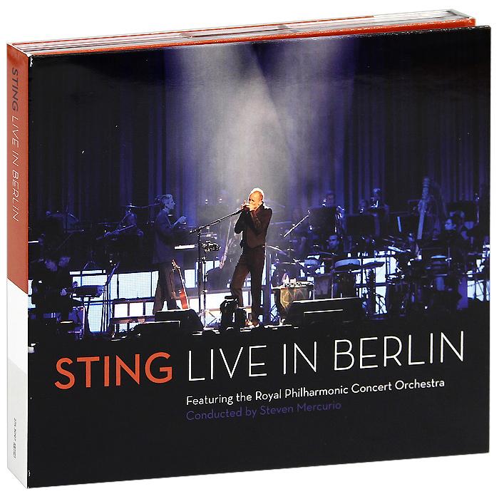 Стинг Sting. Live In Berlin (CD + DVD) the police every breath you take