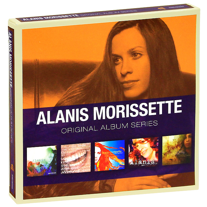 Аланис Мориссетт Alanis Morissette. Original Album Series (5 CD) аланис мориссетт alanis morissette mtv unplugged lp