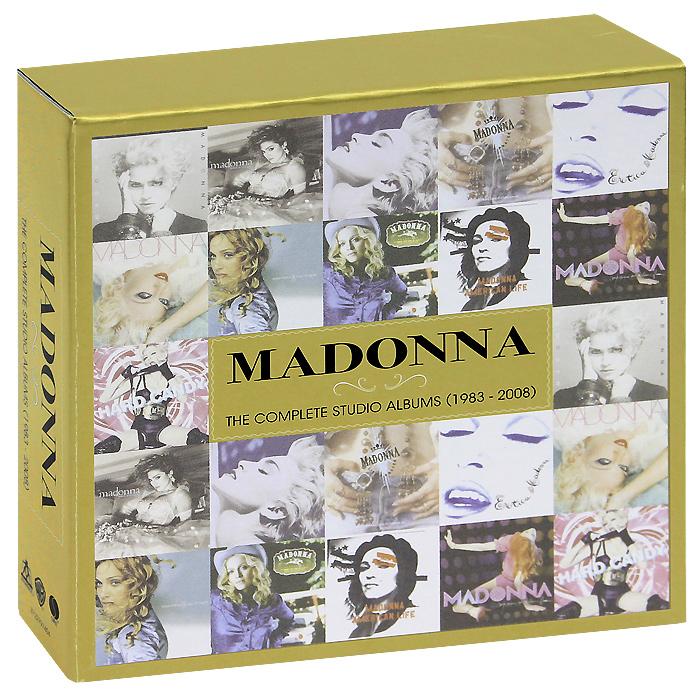 цена на Мадонна Madonna. The Complete Studio Albums (1983-2008). Limited Edition (11 CD)