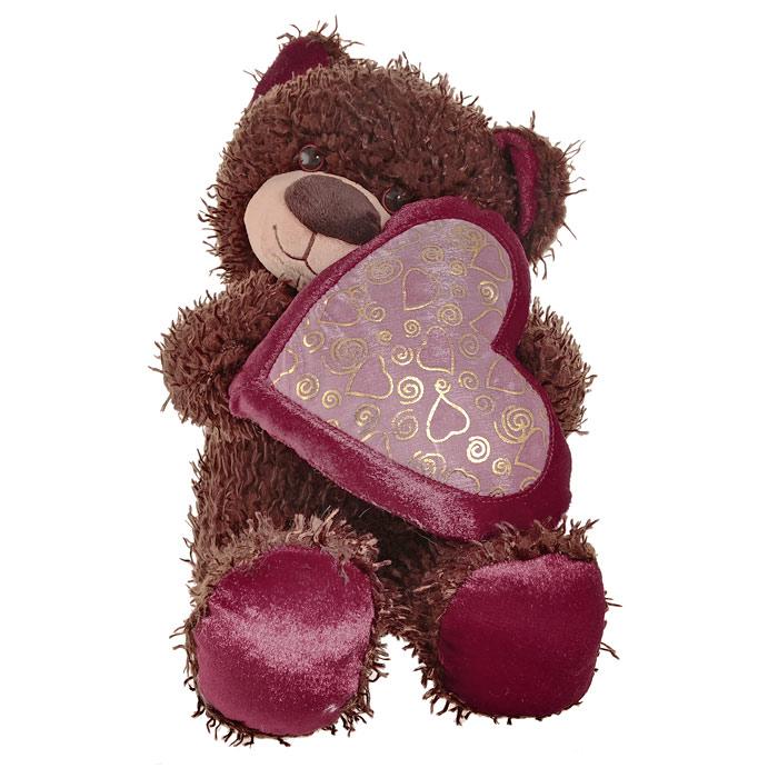 """Мягкая игрушка """"Медвежонок Чиба с сердцем"""", 30 см"""