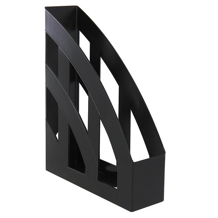 Подставка для бумаг вертикальная ErichKrause Basic, 75мм, черный цены