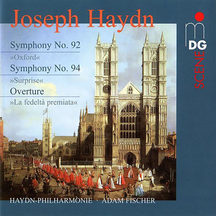 Адам Фишер,Osterreichisch-Ungarische Haydn-Philharmonie Haydn. Symphonies No. 92 & 94 (SACD) elisabet róna sklarek ungarische volksmarchen