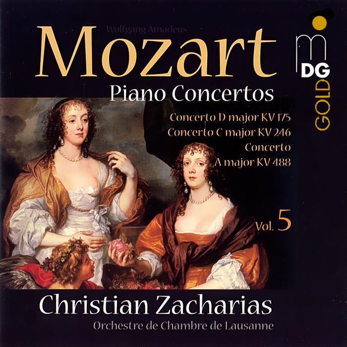 Кристиан Захариас,Orchestra De Chambre De Lausanne Christian Zacharias. Mozart. Piano Concertos Vol. 5 (SACD) цена