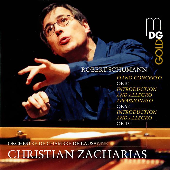 Кристиан Захариас,Orchestra De Chambre De Lausanne Christian Zacharias. Schumann. Piano Concerto (SACD) цена