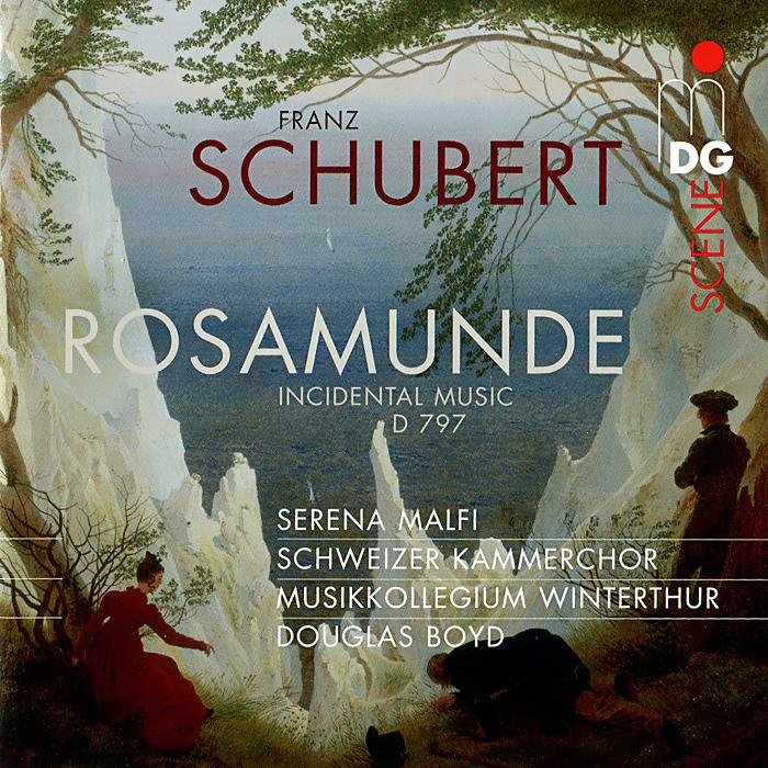 Серена Малфи,Дуглас Бойд,Schweizer Kammerchor,Musikkollegium Winterthur Schubert. Rosamunde D 797 (SACD) цена и фото