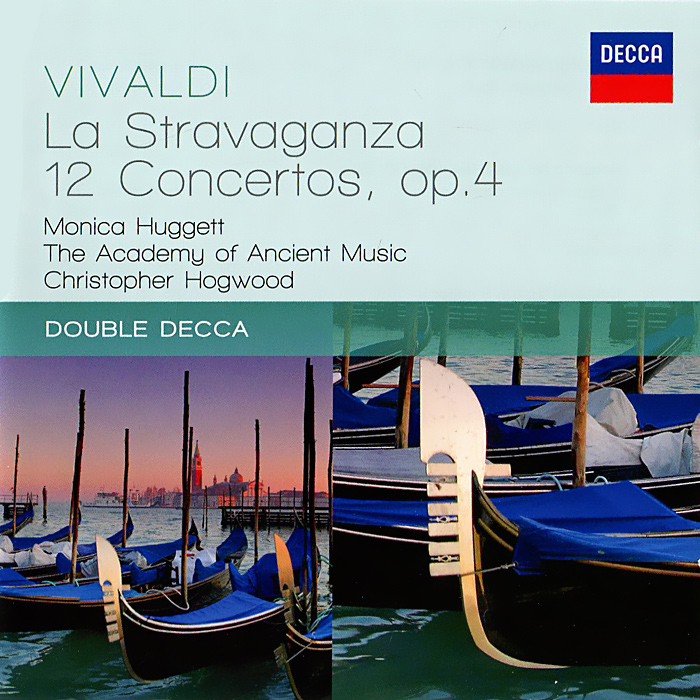The Academy Of Ancient Music,Моника Хаггетт,Кристофер Хогвуд The Academy Of Ancient Music, Monica Huggett, Christopher Hogwood. Vivaldi. La Stravaganza (2 CD) цены онлайн