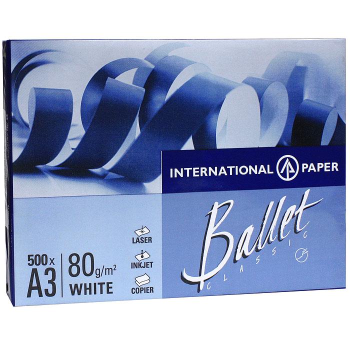 Бумага офисная  Ballet Classic , 500 листов, А3