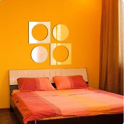 Декоративное зеркало ParisParis Поп арт 30 х 30 см .