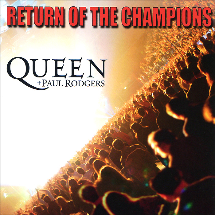 Queen,Пол Роджерс Queen + Paul Rodgers. Return Of The Champions (2 CD) блузка understanding the queen s003 2015