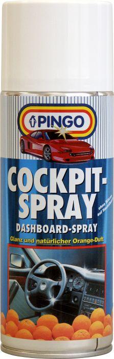 Средство для ухода за пластиком салона Pingo, аэрозоль с ароматом апельсина, 400 мл набор для ухода за стеклами автомобиля pingo 85034 1