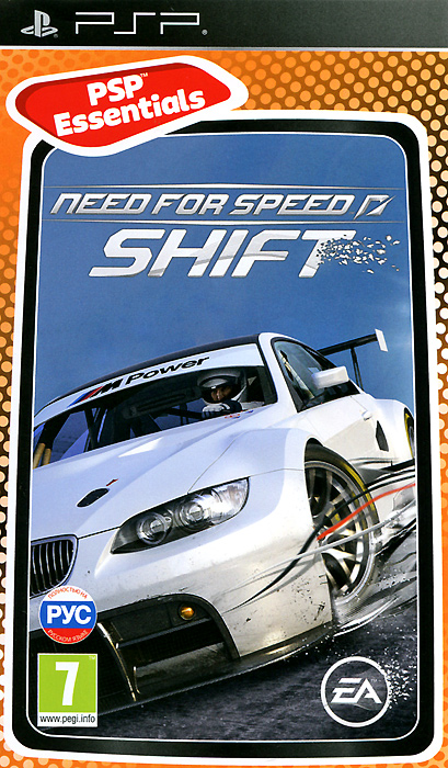 Need for Speed SHIFT. Essentials (PSP) все цены