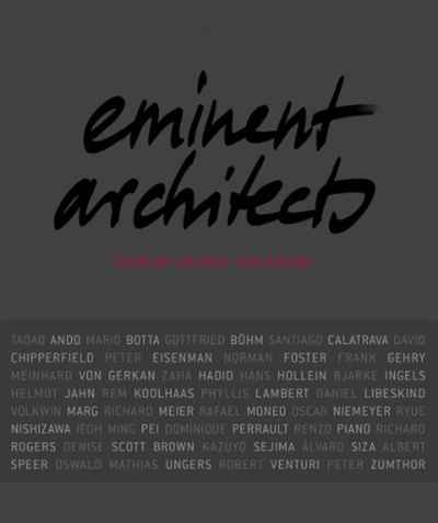 Eminent Architects: Seen by Ingrid von Kruse цена в Москве и Питере
