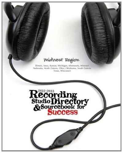 2012-2013 Recording Studio Directory & Sourcebook for Success: Midwest Region: Volume 1 broadcast studio microphone mic suspension boom scissor arm stand recording