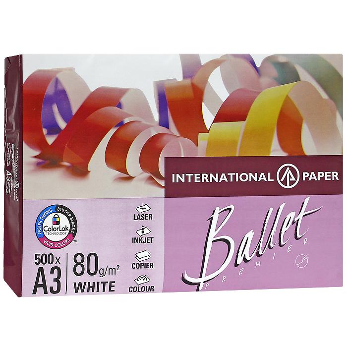 """Бумага офисная """"Ballet Premier"""", 500 листов, А3"""
