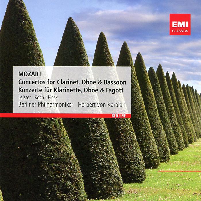 лучшая цена Berliner Philharmoniker,Герберт Караян Karl Leister, Lothar Koch, Gunter Piesk, Herbert Von Karajan. Mozart. Wind Concertos