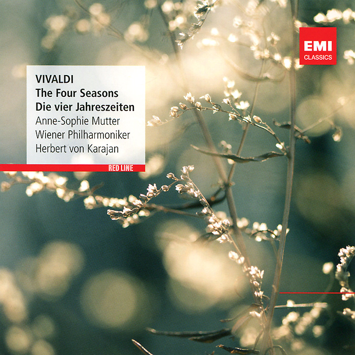 Анна-Софи Муттер,Герберт Караян Anne-Sophie Mutter, Herbert Von Karajan. Vivaldi. The Four Seasons анна софи муттер ламберт оркис anne sophie mutter lambert orkis beethoven die violinsonaten 4 cd