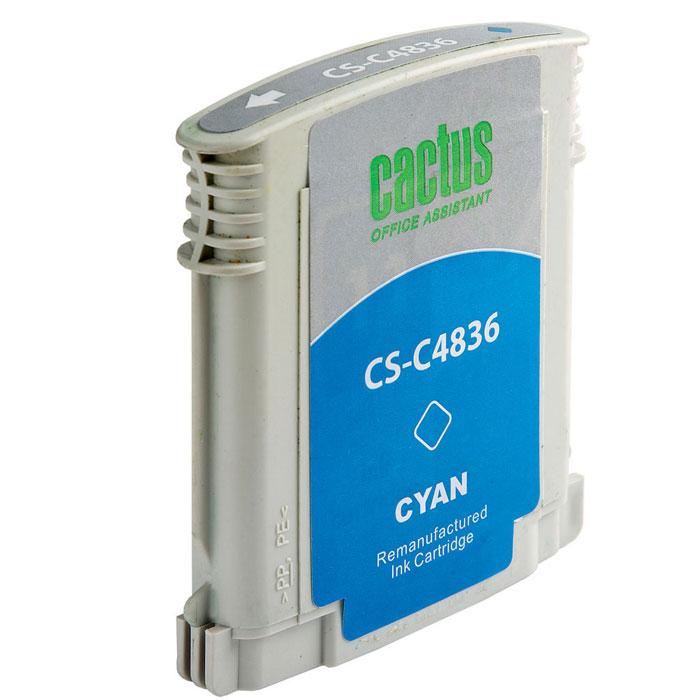 Картридж Cactus CS-C4836 №11, голубой, для струйного принтера
