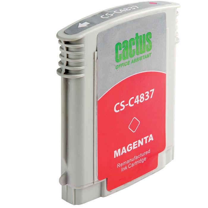 Картридж Cactus CS-C4837, пурпурный, для струйного принтера