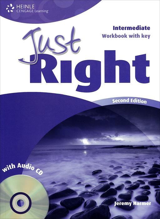Just Right: Workbook with Key: Intermediate (+ CD) джемпер just key just key ju016emzxi49
