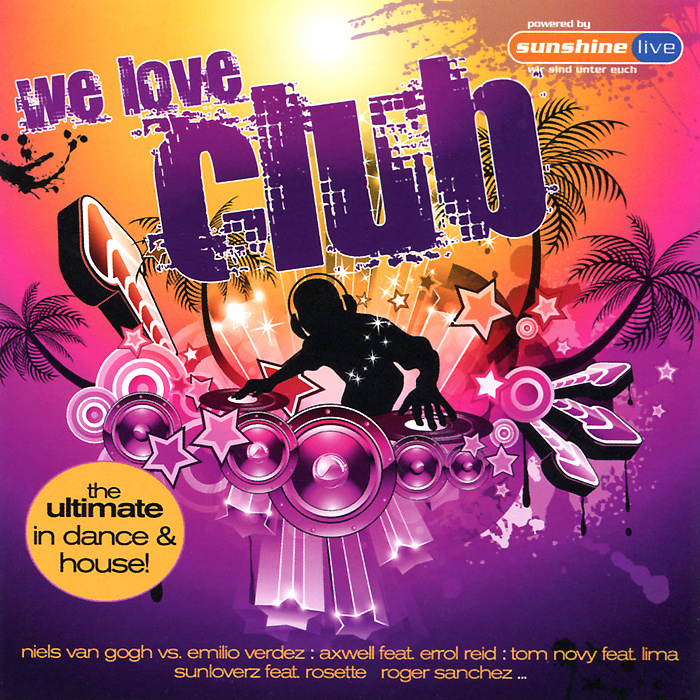 We Love Club (2 CD) we love electro iv 2 cd