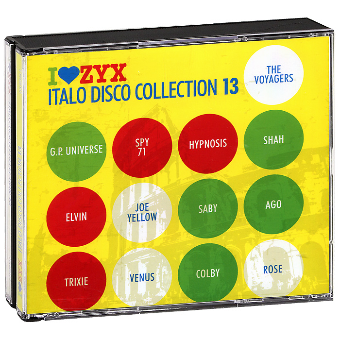 Italo Disco Collection 13 (3 CD) цена и фото