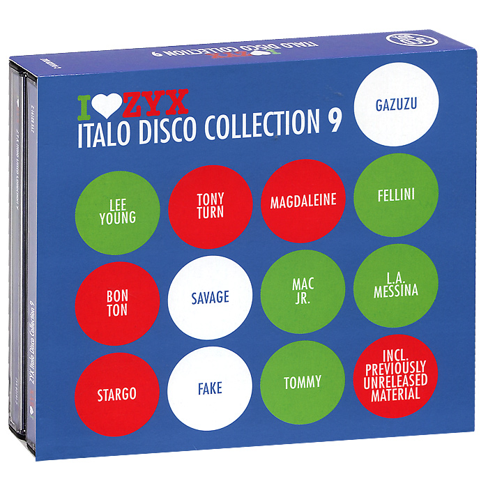 Italo Disco Collection 9 (3 CD) italo disco collection 13 3 cd