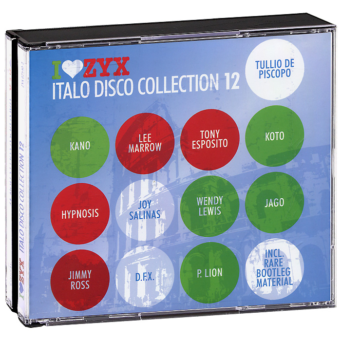 Italo Disco Collection 12 (3 CD) italo disco collection 13 3 cd