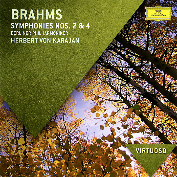 Berliner Philharmoniker,Герберт Караян Brahms. Symphonies Nos. 2 & 4 цена и фото