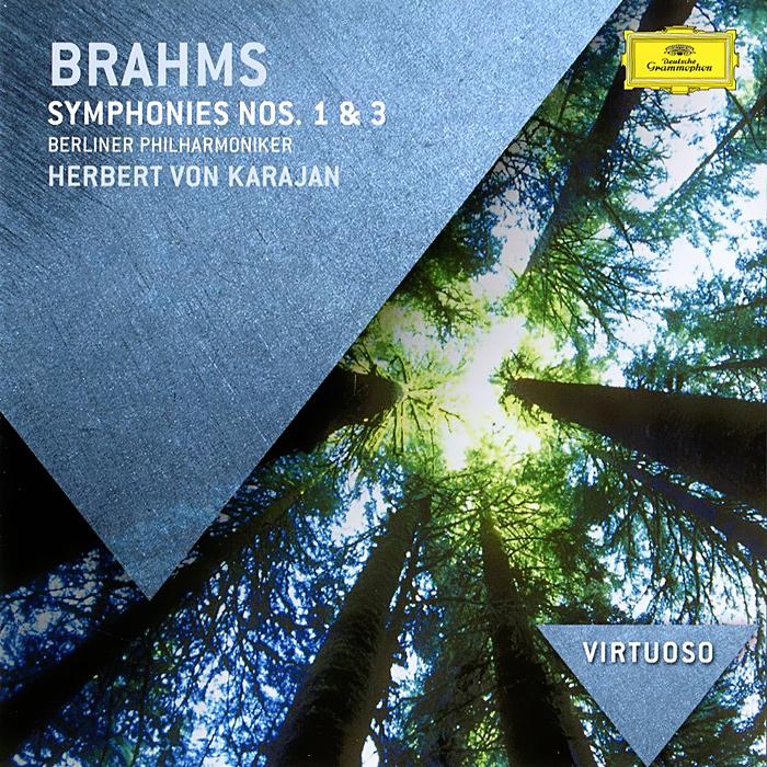 лучшая цена Berliner Philharmoniker,Герберт Караян Brahms. Symphonies Nos.1 & 3
