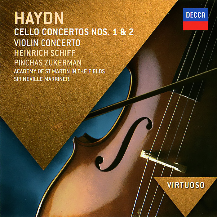 Haydn. Cello Concertos Nos. 1 & 2 mischa maisky shostakovich cello concertos nos 1