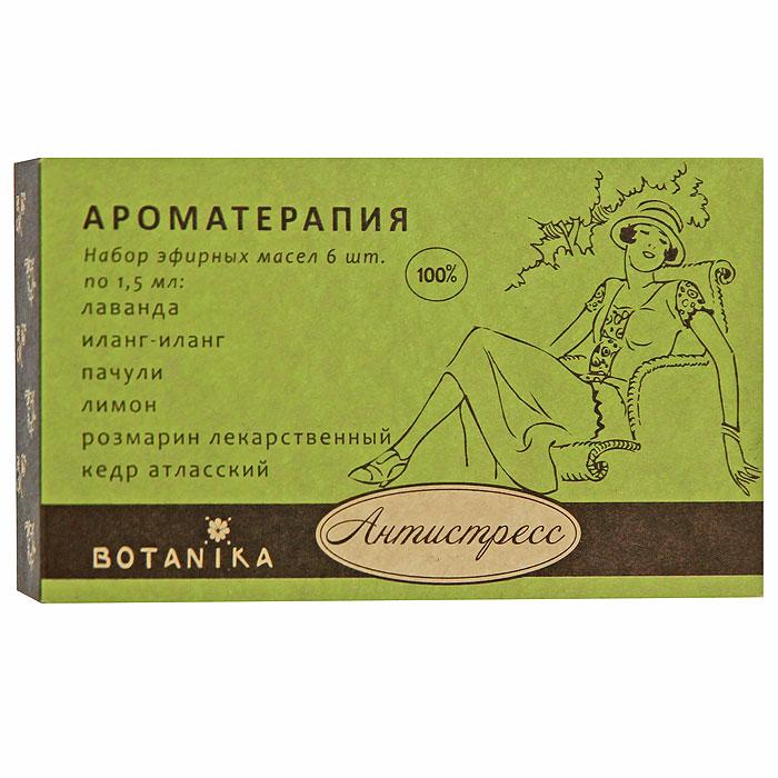 """Набор эфирных масел Botanika """"Антистресс"""", 6x1,5 мл"""