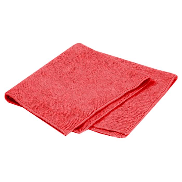 Салфетка для ухода за автомобилем Pingo, цвет: красный, 40 x 40 см набор для ухода за стеклами автомобиля pingo 85034 1