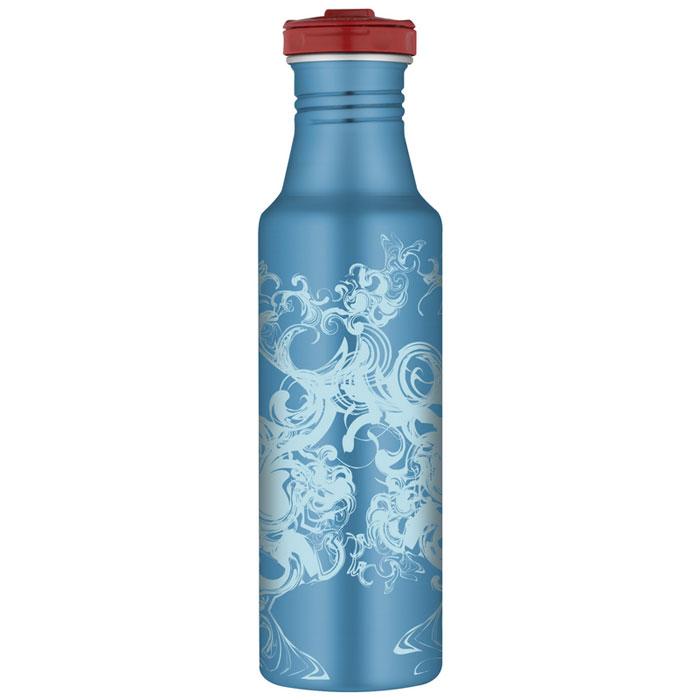 Фляжка Roho для напитков, цвет: голубой, 700 мл фляжки сувенирные