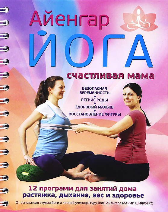 90ebfdbcdfbc9 Айенгар йога. Счастливая мама — купить в интернет-магазине OZON с быстрой  доставкой