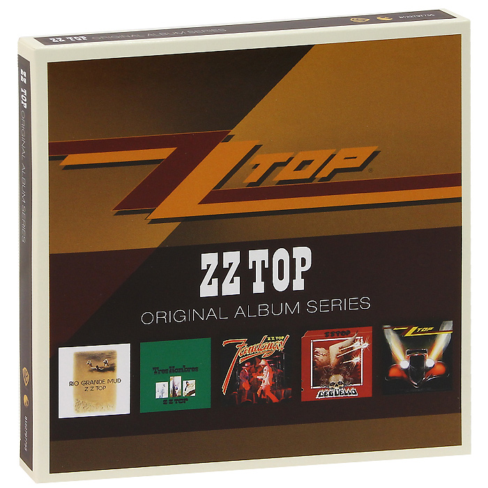 ZZ Top ZZ Top. Original Album Series (5 CD) original airtac compact slide cylinder roller bearing hls series hls12x100s