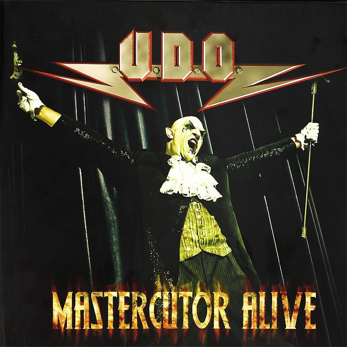 U. D. O U.D.O. Mastercutor Alive (2 LP) u d o u d o mastercutor alive 2 cd dvd