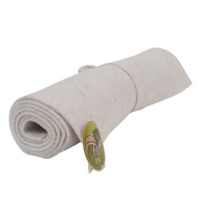 Коврик для бани и сауны, цвет: белый, 160 x 50 см печь для бани и сауны термофор гейзер 2014 inox витра антрацит