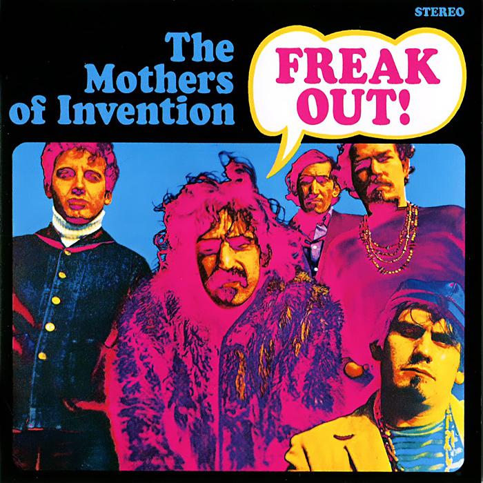 Фрэнк Заппа,The Mothers Of Invention Frank Zappa, The Mother Of Invention. Freak Out! kidd s the invention of wings