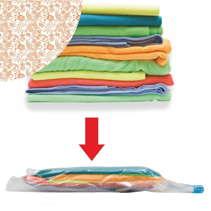 Пакет вакуумный Eva для хранения вещей цвет оранжевый 60 х 80 см пакет вакуумный eva для хранения вещей цвет голубой 60 х 80 см