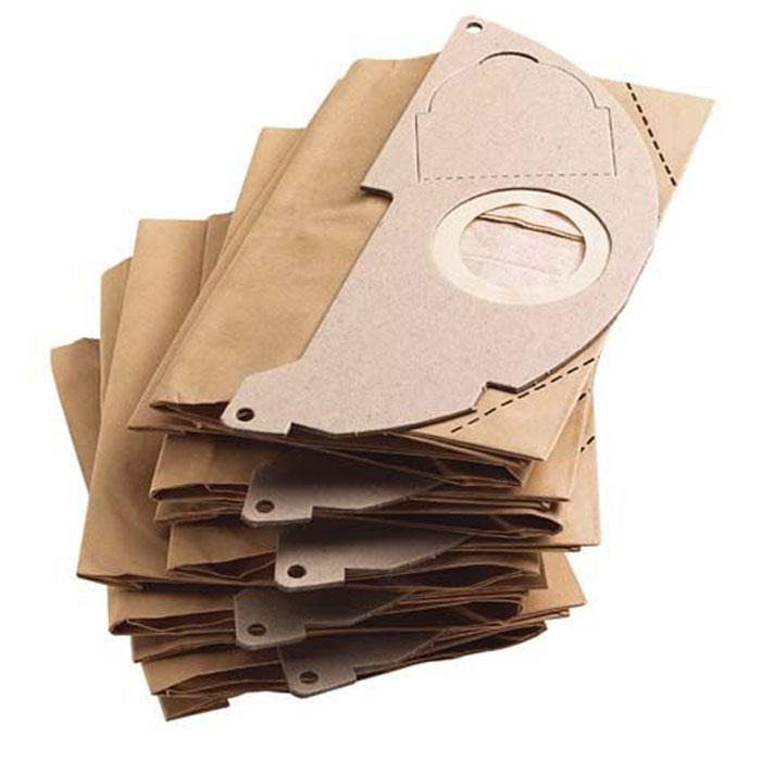 Бумажные фильтр-мешки Karcher 5 шт. 6.904-322.0 пылесборники maxx047 для промышленных пылесосов 5 шт